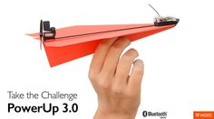 PowerUp 3.0 Smartphone Controlled Paper Plane