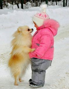 Dog & Kid Face-to-Face _____________________________ Reposted by Dr. Veronica Lee, DNP (Depew/Buffalo, NY, US)