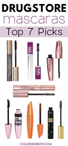 Spending a fortune on mascara is so passe. These best drugstore mascara picks lengthen and volumize lashes like high end brands and are a third of the price. #best #drugstore #mascara