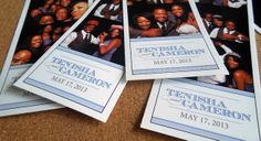 Photo booth strips customized to match the wedding invitation theme