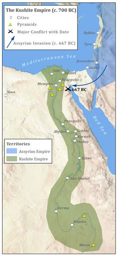 History Ancient Egypt Nile River And Muslim - Map of egypt during the new kingdom