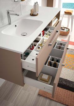 awesome Idée décoration Salle de bain - Aménagement intérieur tiroir salle de bain gamme Zoé - Cedam...