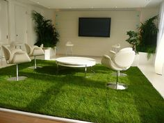 serenity-weddings.com   Wedding Planners Use grass in marquee as base for chill out area