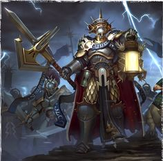 Hallowed Knights  #ageofsigmar #warhammer #art #fantasy #aos #gamesworkshop #Stormcast #Chaos