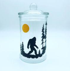 Stash Jars, Bigfoot, 21st Birthday, Cannabis, Weed, Shot Glass, Polymer Clay, Kit, Ganja