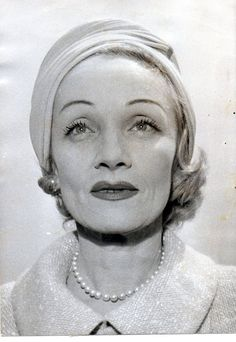 Marlene Dietrich.. great bone structure helped Marlene age well into her 50's & 60's.Whatever her later tricks, bone structure was her greatest asset, & her legs of course.   (please follow minkshmink on pinterest) #marlenedietrich