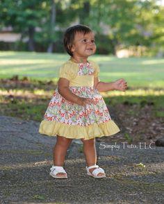 Baby Marissa's Perfect Peasant Dress - via @Craftsy