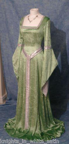 Medieval Gothic Celtic Dress Handfasting Elven Renaissance Custom Made | eBay