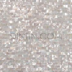 Decorative wall Tiles - White Butterfly Shell Mosaic Brick Subway Groutless Mother of pearl kitchen backsplash wall tile pearl shell mosaic tiles bathroom. Kitchen Wall Tiles, Kitchen Flooring, Backsplash Tile, Granite Tile, Herringbone Backsplash, Tiling, Mother Of Pearl Backsplash, Bad Wand, Mosaic Bathroom