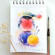 Watercolorist: @genechka_djogan #waterblog #акварель #aquarelle #painting #drawing #art #artist #artwork #painting #illustration #watercolor #aquarela