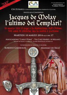 MedioEvo Weblog: Jaques de Molay l'ultimo dei Templari? conferenza a Milano