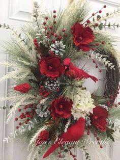 Rustic Christmas Wreath Ideas On A Budget; wreaths Rustic Christmas Wreath Ideas On A Budget Centerpiece Christmas, Xmas Decorations, Rustic Christmas, Christmas Holidays, Elegant Christmas, Christmas Tree, Christmas Ideas, Christmas Clothes, Christmas Island