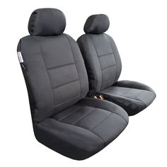 Waterproof, durable, heavy duty seat covers, solid black front seat covers Best Seat Covers, Truck Seat Covers, Car Covers, Car Seats, Toyota Tacoma Seat Covers, Waterproof Seat Covers, Solid Black, Car Accessories, Ford