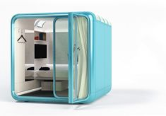 If afternoon naps are so beneficial, how can I sleep at the office? More companies are providing sleep spaces, ranging from the sublime to the ridiculous.... Sleeping Pod