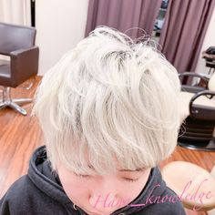#ヘアカラー #派手髪 #ブリーチ1回 #ホワイトヘア #ホワイトブリーチ #ハイトーンカラー #haircolor #whitehair #rainbow White Blonde, Chokers, Instagram, Fashion, Moda, Fashion Styles, Fashion Illustrations