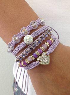 Bracelet Shamballa Agatha