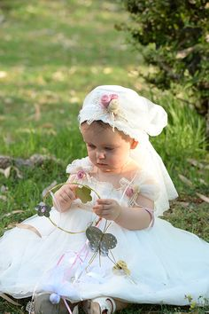 """Baptism Dress """"Cat in the Hat"""""""