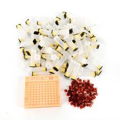 440Pcs Beekeeping Rearing Cell Cup Kit Queen Bee Cages Beekeeper Equipment Tool (eBay Link)