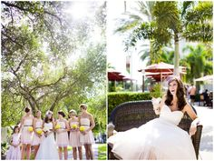 A Pink & Yellow DIY Wedding filled with Lemon, Lace & Love - Bridal Musings Wedding Blog