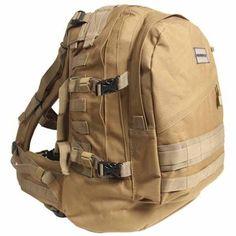 Day Pack Gear Bag, Tan