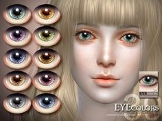 Sims 4 CC's - The Best: Eyes by S-Club