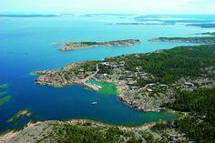 HavsVidden, Åland - vaikuttavin satama, missä viime kesänä vierailimme