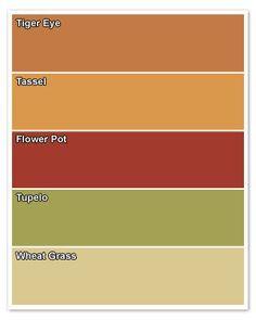 Whole House Color Scheme Home Paint Color Palettes