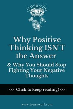 Positive thinking isn't the answer. Negative thinking isn't the problem. Here's why ...