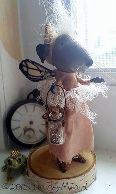 Мистический чердачный мир в работах кукольного мастера Stacey Mead - Ярмарка Мастеров - ручная работа, handmade