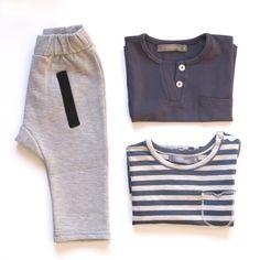 Baggy pants #houseofjamie T-shirt ROC & NOEL #onemoreinthefamily
