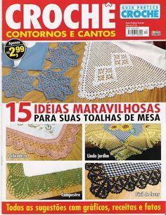 CROCHÊ CONTORNOS E CANTOS - claudia - Веб-альбомы Picasa