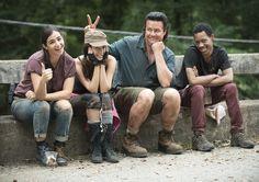The Walking Dead Season 5 Behind-the-Scenes Photos