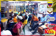Atletismo Carabobo. Segunda fase, del curso de Multiplicadores de MiniAtletismo realizado por la Asociación Carabobeña de Atletismo (Atletismo Carabobo)