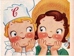 vintage campbell kids 1950 advertisement