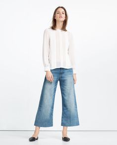 PLUMETIS TOP-View All-TOPS-WOMAN | ZARA United States