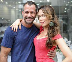 Malvino Salvador e Mariana Ximenes interpretam par romântico em 'Haja Coração' (Foto: Ramón Vasconcelos/Globo)