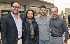 Mauricio Lamosa, Jack Fahrer, Sérgio Fahrer e André Bastos