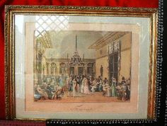 20231 $9999 or best offer - french haqnd colored engravingfrom the 1800's reframed in usa - free ship worldwide or pick up in sarchi costa rica