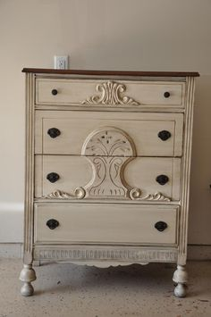 Fab Rehab Creations: Petite Chest of Drawers