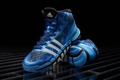 adidas Crazyquick silhouette sees it's latest colorway the Triple-Blue which is one of five colorways that will be available on May Pre-orders will begin Blue Sneakers, Adidas Sneakers, Me Too Shoes, Men's Shoes, Adidas High Tops, Blue Dream, Mens Fashion Shoes, Basketball Shoes, Basketball Stuff