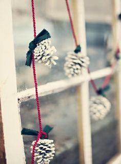 Photo Une guirlande pomme de pain - 30 idées déco pour une ambiance de Noël à petits prix - Lifestyle - Be.com
