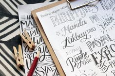 Abbey Sy, handlettering