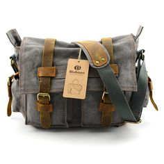 Bluboon Canvas Messenger Bag