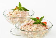 cz - Výborný pochoutkový salát se salámem a vejci Potato Salad, Potatoes, Ethnic Recipes, Food, Potato, Essen, Meals, Yemek, Eten