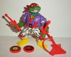 teenage mutant ninja turtles RAPHAEL HEAVY METAL RAPH 1991 complete vintage tmnt playmates toys action figures for sale in online store.
