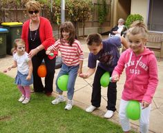 luftballon spiele für das kindergeburtstag