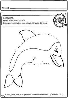 ATIVIDADES COM TRACEJADO PARA MATERNAL   Cantinho do Educador Infantil