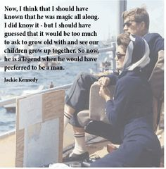 Jackie about Jfk: true love ❤