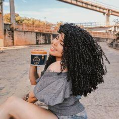 Curly 3c, Curly Hair Styles, Natural Hair Styles, Pelo Natural, Queen Hair, Aesthetic Hair, Hair Goals, Curls, Black Women