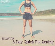 The 3 Day Quick Fix is included in Autumn Calabrese's 21 Day Fix workout and nutrition program. Now, if you're like me you are probably saying isn't 21 days pretty quick anyways m…